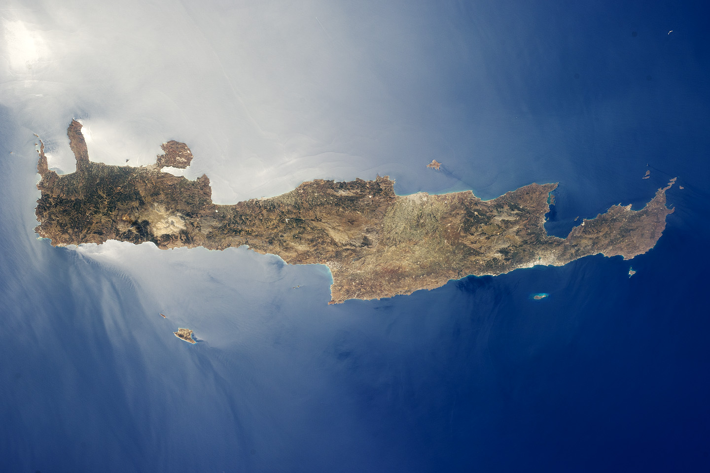 Re: Watching Crete from space - live!